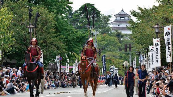 Aizu Matsuri Aizu Clan Parade