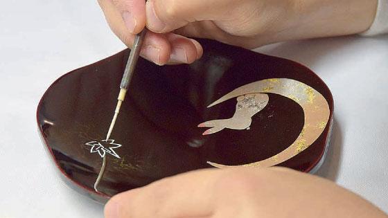 Aizu-nuri(lacquering) experience