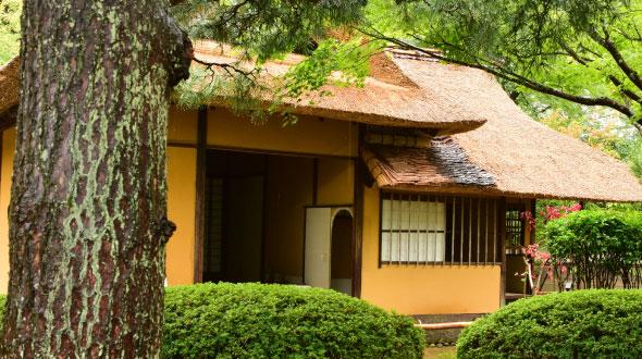 Tea ceremony room Rinkaku1