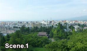 Tsurugajo Castle scene1