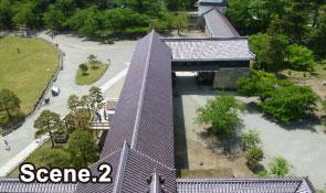 Tsurugajo Castle scene2